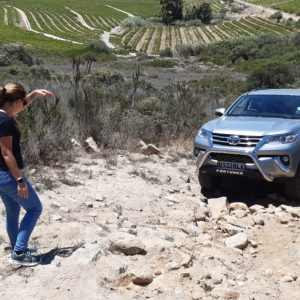 4x4 Rock Driving Course
