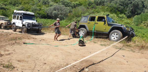 Full 4x4 Recovery Course