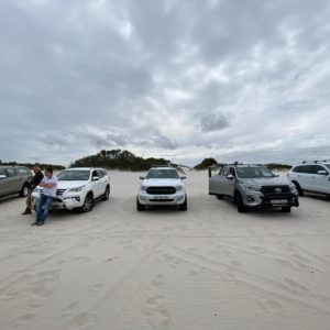 Sand Driving Course