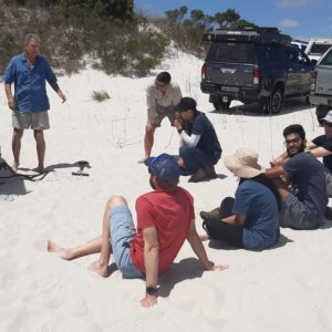 Sand Driving and Recovery Course